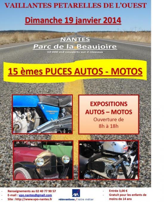 15e Puces Auto Moto de Nantes-La Beaujoire